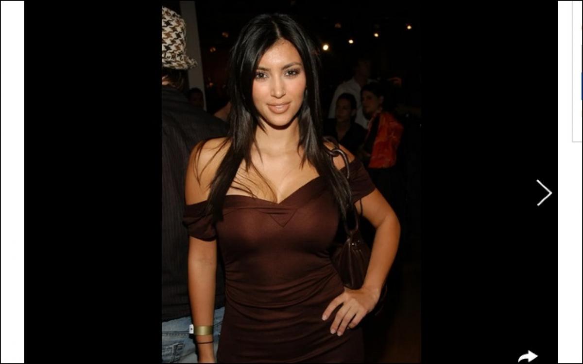 Chân dung ngôi sao bốc lửa người Mỹ gốc Armenia Kim Kardashian. Ảnh: Vogue.