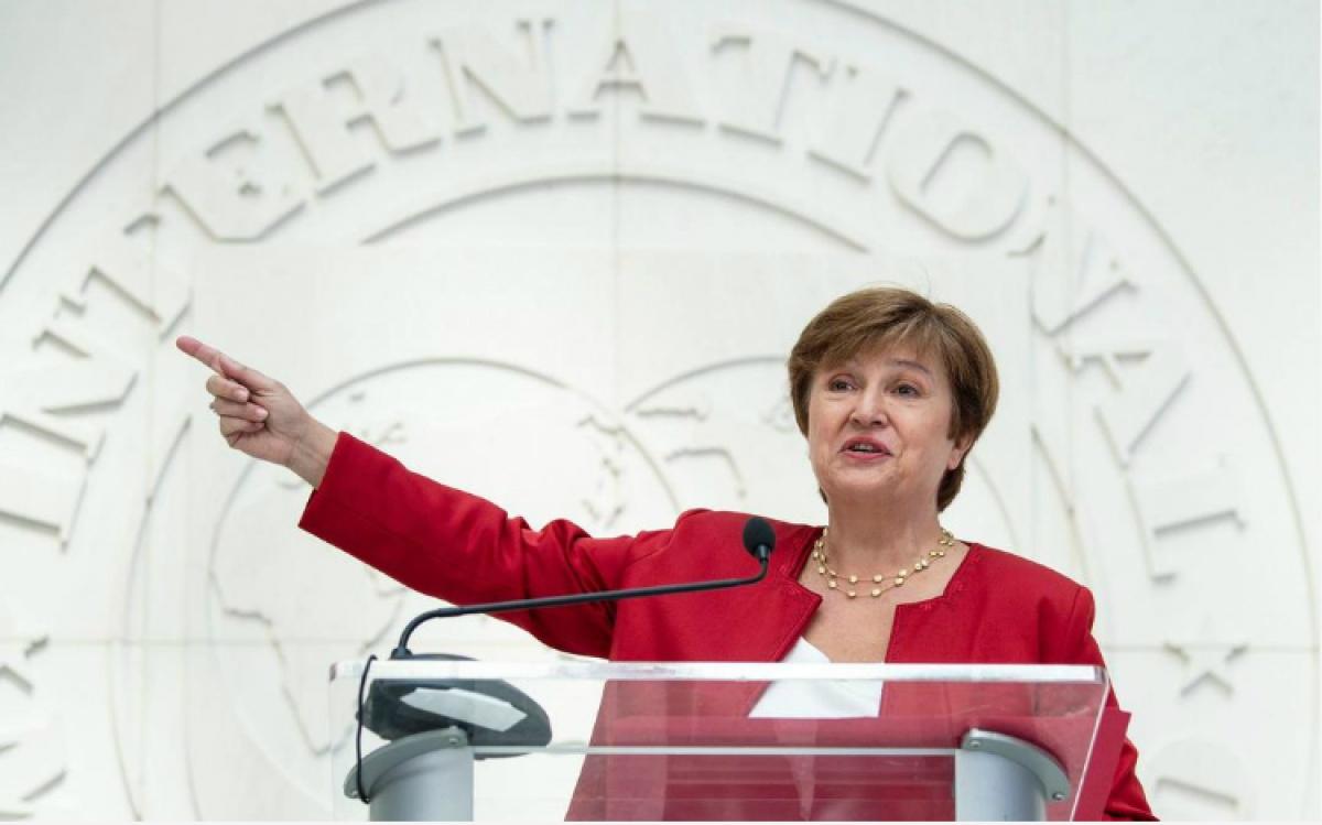 Tổng giám đốc điều hành Quỹ tiền tệ quốc tế (IMF) Kristalina Georgieva. Ảnh: Doanhnhansaigon