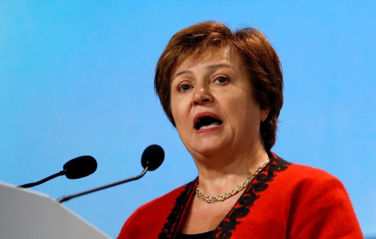 Bà Kristalina Georgieva - Giám đốc Quỹ tiền tệ quốc tế. Ảnh: Reuters