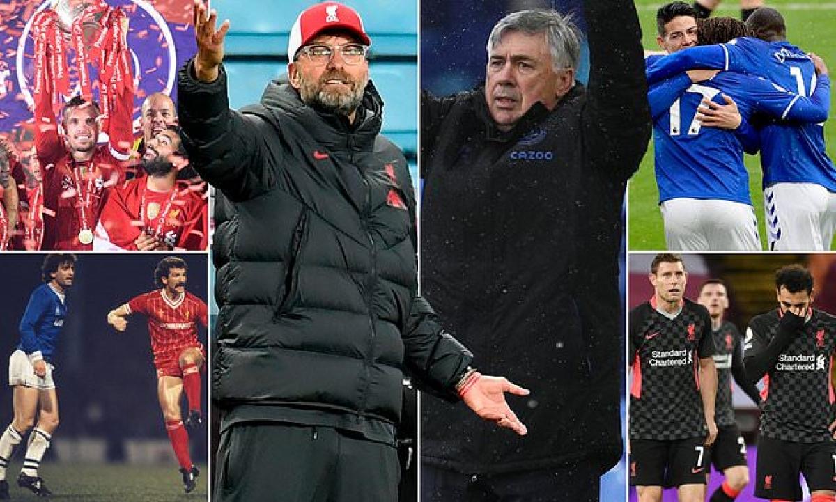 Everton đã 10 năm chưa biết mùi thắng lợi trước Liverpool. (Ảnh: Daily Mail)