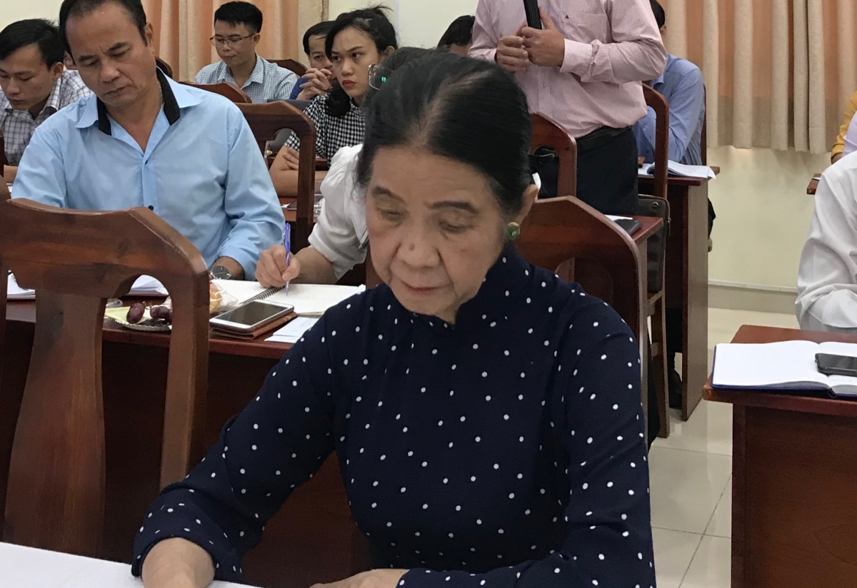 Luật sư Trương Thị Hòa đề nghị cần làm rõ mục tiêu cụ thể của việc thành lập TP Thủ Đức