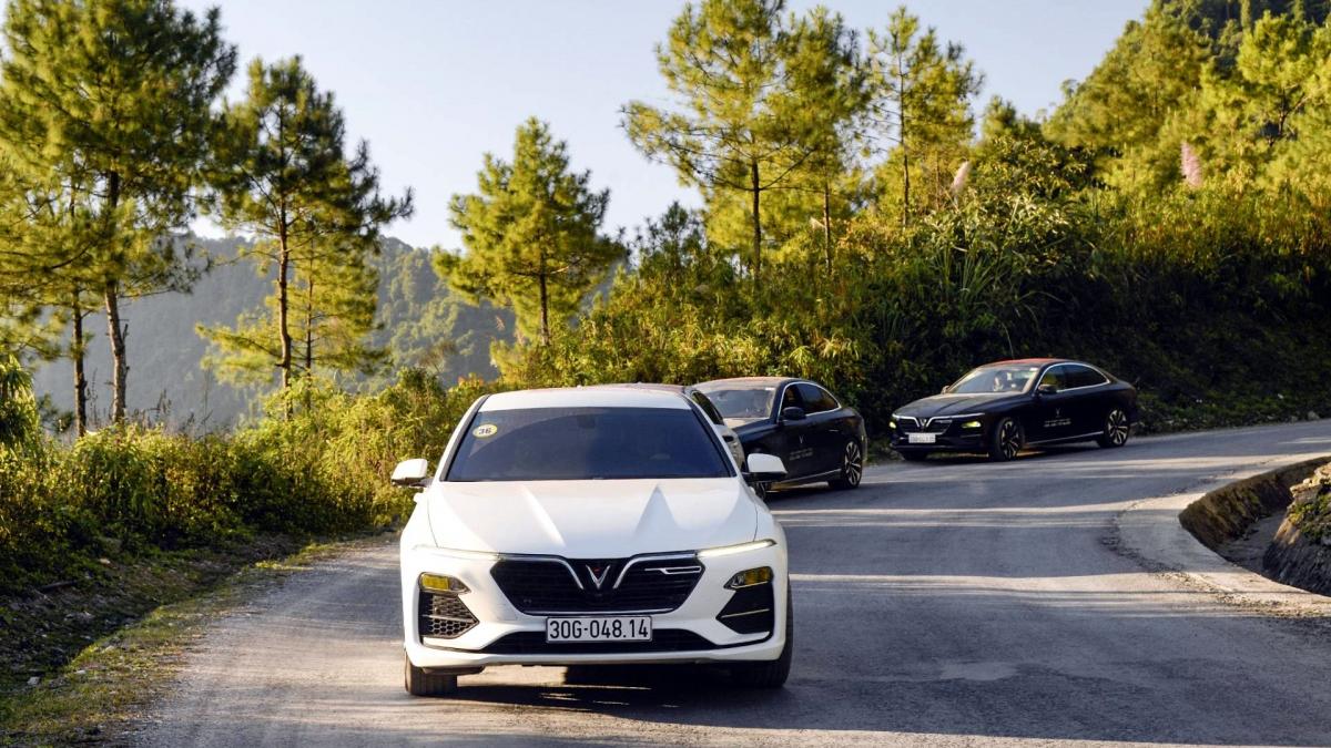 Mẫu sedan dòng Lux của VinFast – Lux A2.0 - cũng có tháng bán hàng ấn tượng với doanh số 804 xe.