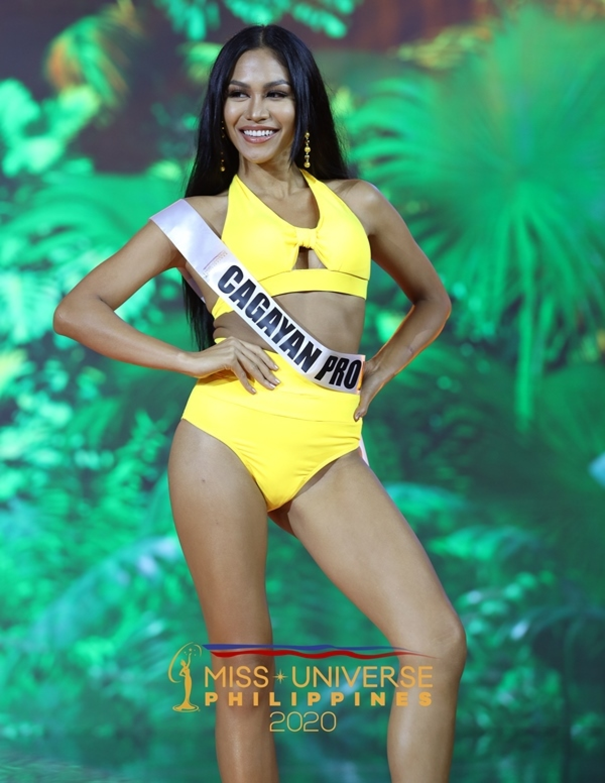 Mari Danica Reynes đại diện tỉnh Cagayan.