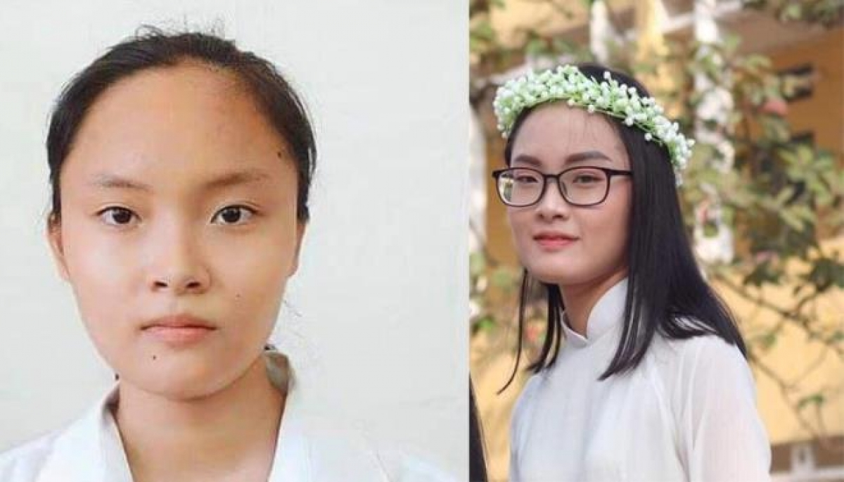 Nữ sinh Trần Thúy Hiền.