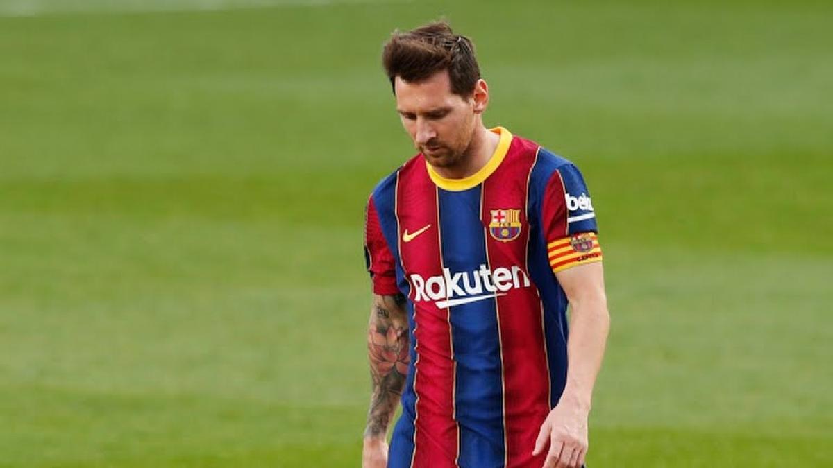 Messi ôm hận ở trận El Clasico lần thứ 278 (Ảnh: Reuters).