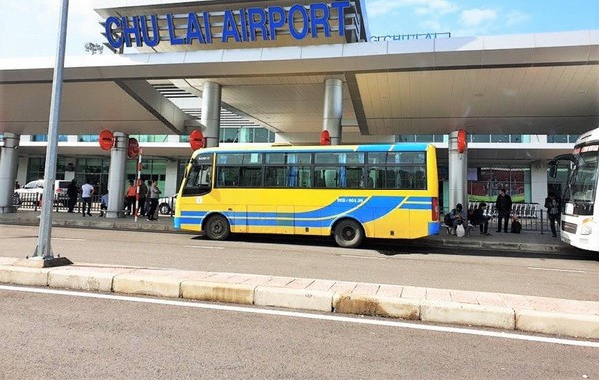 Dự kiến Cảng hàng không Chu Lai sẽ khai thác trở lại vào 16h00 chiều mai (30/10).