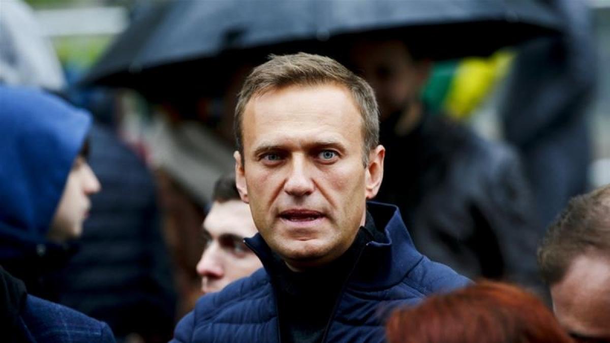 Chính trị gia đối lập Nga Alexei Navalny. Ảnh: Anadolu