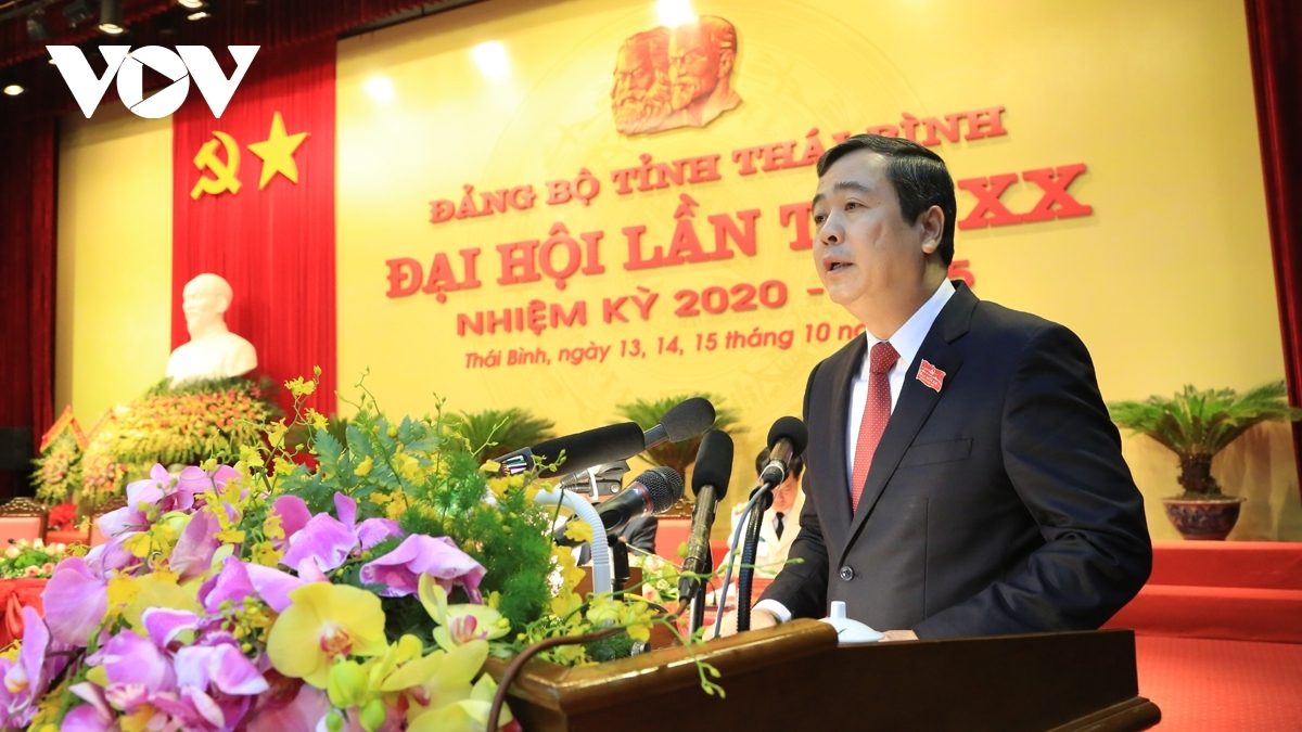 Ông Ngô Đông Hải được bầu giữ chức Bí thư Tỉnh ủy Thái Bình.