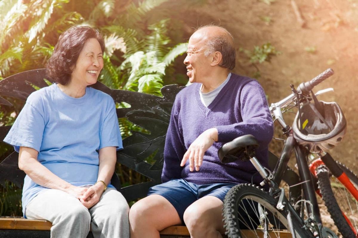 Rèn luyện sức khỏe hằng ngày để thấy khi về già bạn vẫn khỏe mạnh, ít mắc bệnh hơn những người khác (Ảnh minh họa internet)