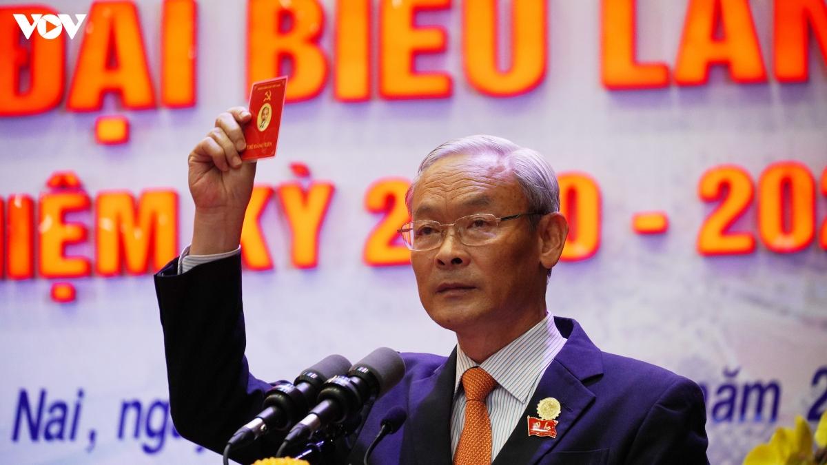 Ông Nguyễn Phú Cường tái đắc cử Bí thư Tỉnh ủy Đồng Nai nhiệm kỳ 2020-2025.