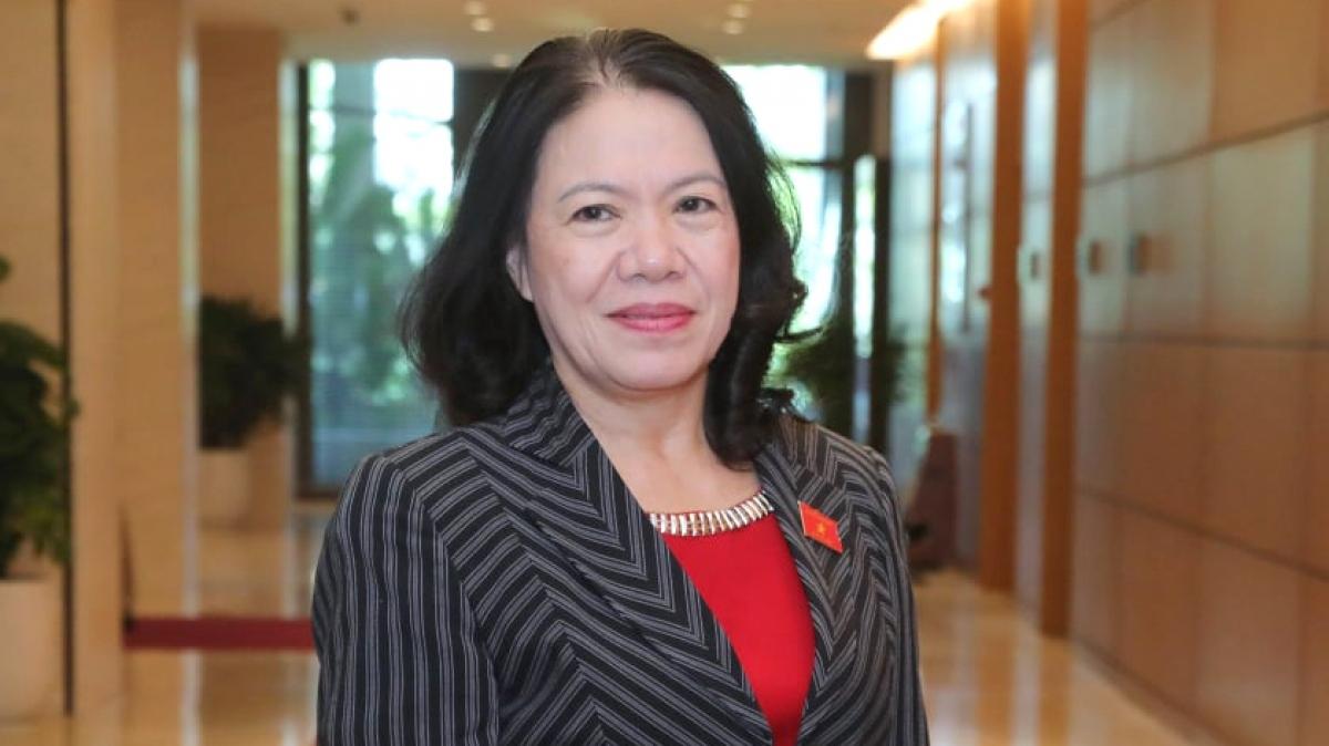Chủ tịch Hội Chữ thập đỏ Việt Nam Nguyễn Thị Xuân Thu