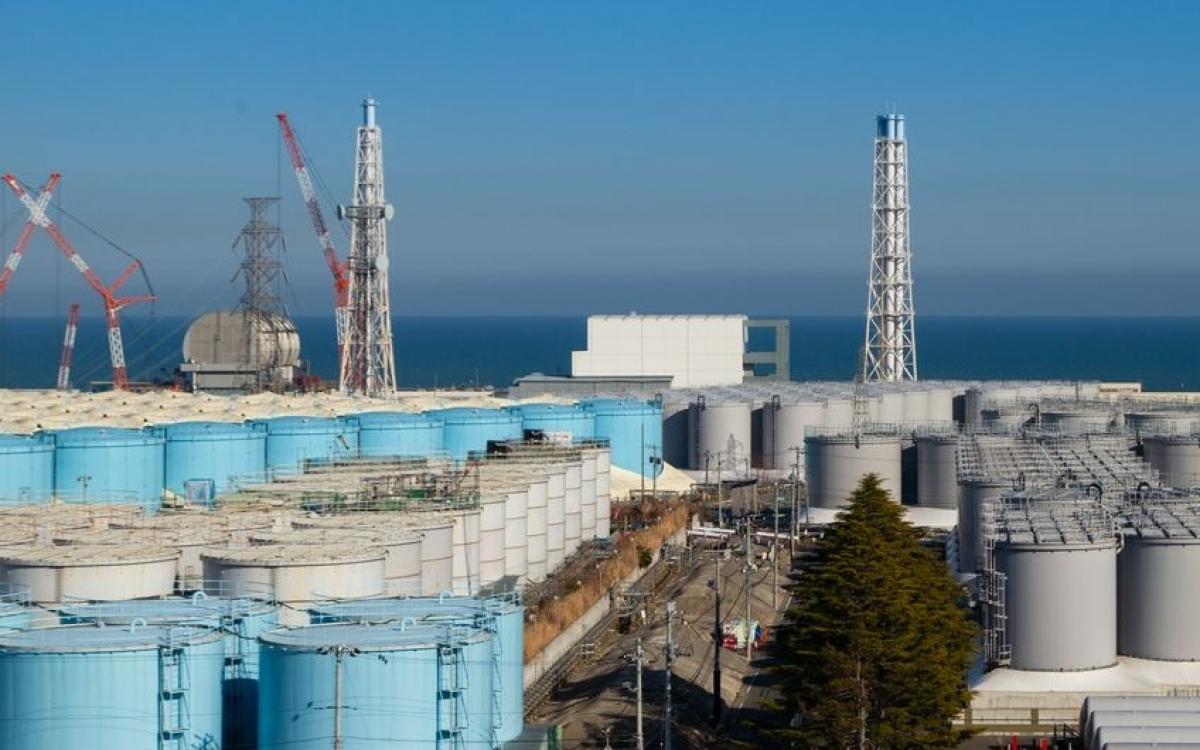 Nhà máy điện hạt nhân Fukushima Daiichi. Ảnh: Nippon.