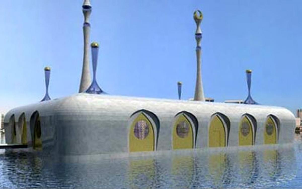 Hệ thống nhà như thế này đảm bảo an toàn khi ngập nước. (Ảnh: inhabitat.com)./.