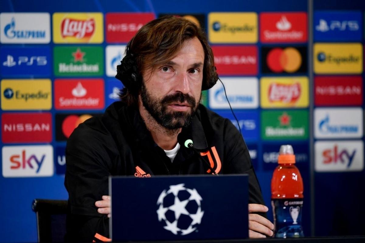 HLV Pirlo đang gặp khó khăn trong việc phát huy sức mạnh của Juventus (Ảnh: Getty).