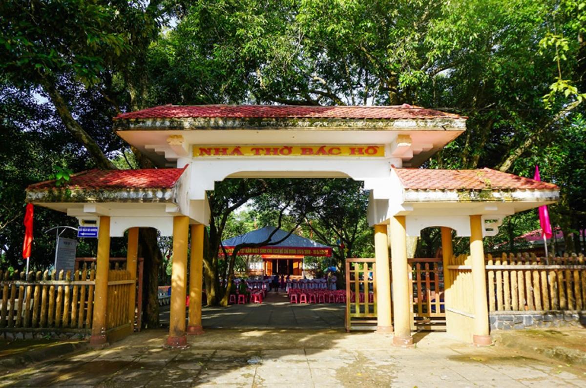 Nhà thờ Bác Hồ. Ảnh: Báo Phú Yên