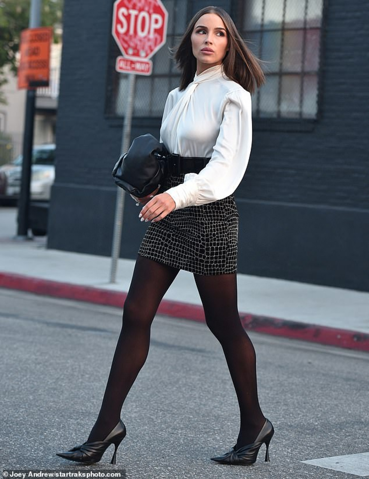 Olivia Culpo xinh đẹp trong buổi chụp hình quảng cáo ở Los Angeles vừa qua.