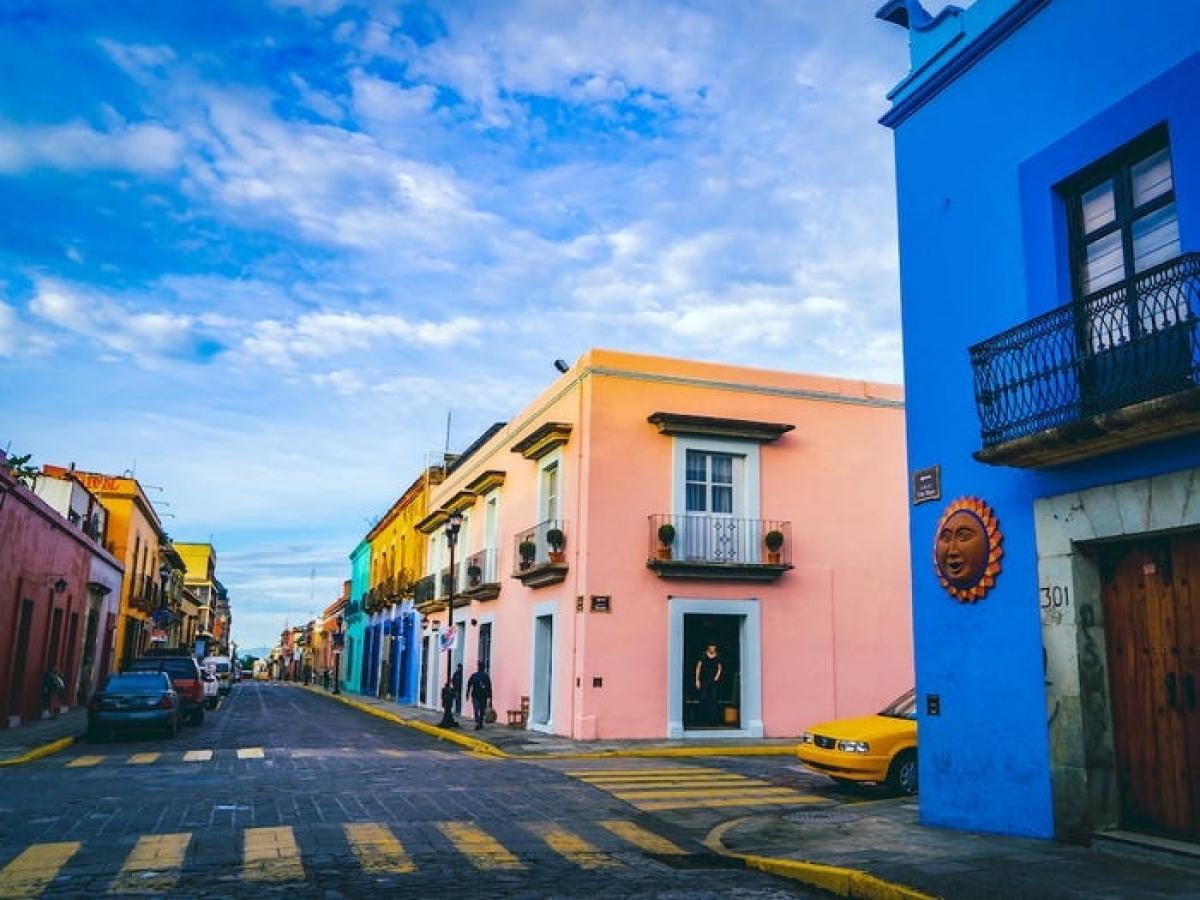 Thành phố Oaxaca, Mexico. Nguồn: Indigoai/Getty Images