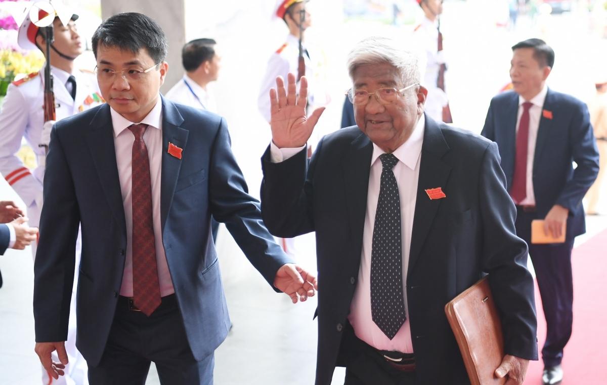 Nguyên Chủ tịch Ủy ban Trung ương Mặt trận Tổ quốc Việt Nam Phạm Thế Duyệt