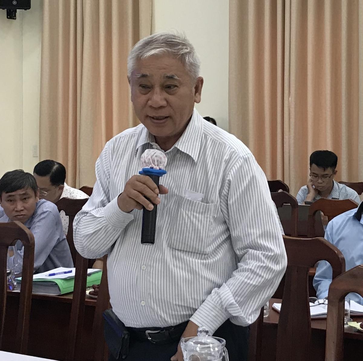 Ông Khương Văn Mười, Chủ tịch Hội Kiến trúc sư TPHCM cho rằng, có thể xin phép Chính phủ có cơ chế riêng cho TPHCM khi thực hiện Đề án sắp xếp đơn vị hành chính cấp huyện, cấp xã giai đoạn 20192-2021