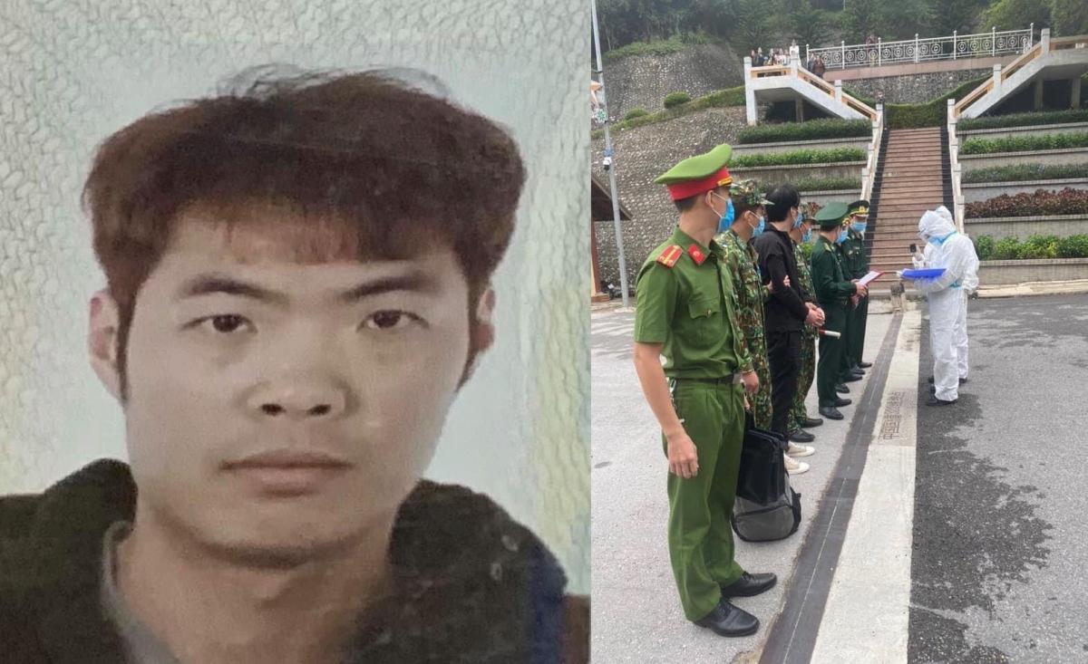 Bàn giao đối tượng Xu Jing Dong cho Công an Trung Quốc.
