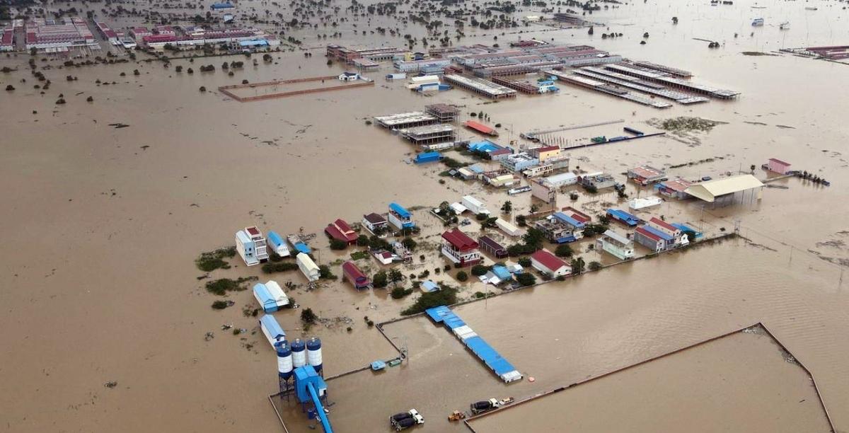 Nước lũ gây thiệt hại nghiêm trọng