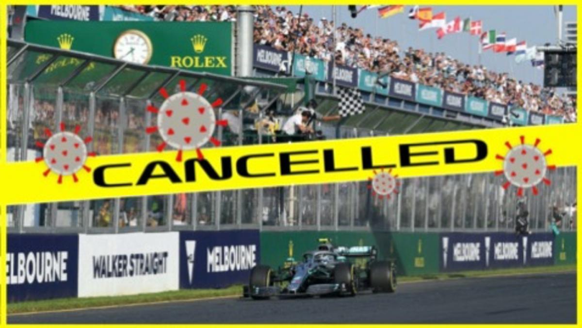 Chặng đua Công thức 1 tại Australia chính thức thông báo huỷ vào ngày 13/3.