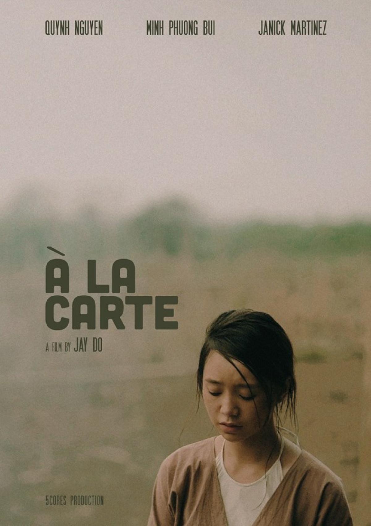 Poster 'À La Carte' (Ảnh: Đoàn làm phim)