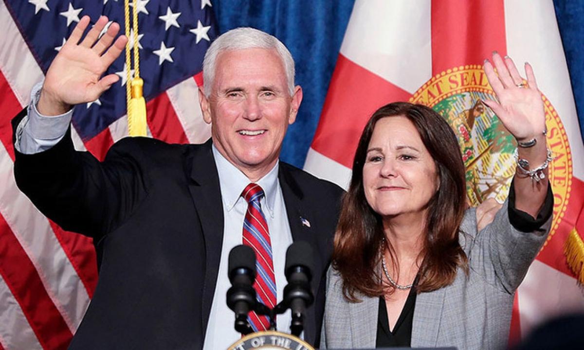 Vợ chồng Phó tổng thống Mỹ Mike Pence âm tính với SARS-CoV-2. Ảnh minh họa, nguồn: AP.