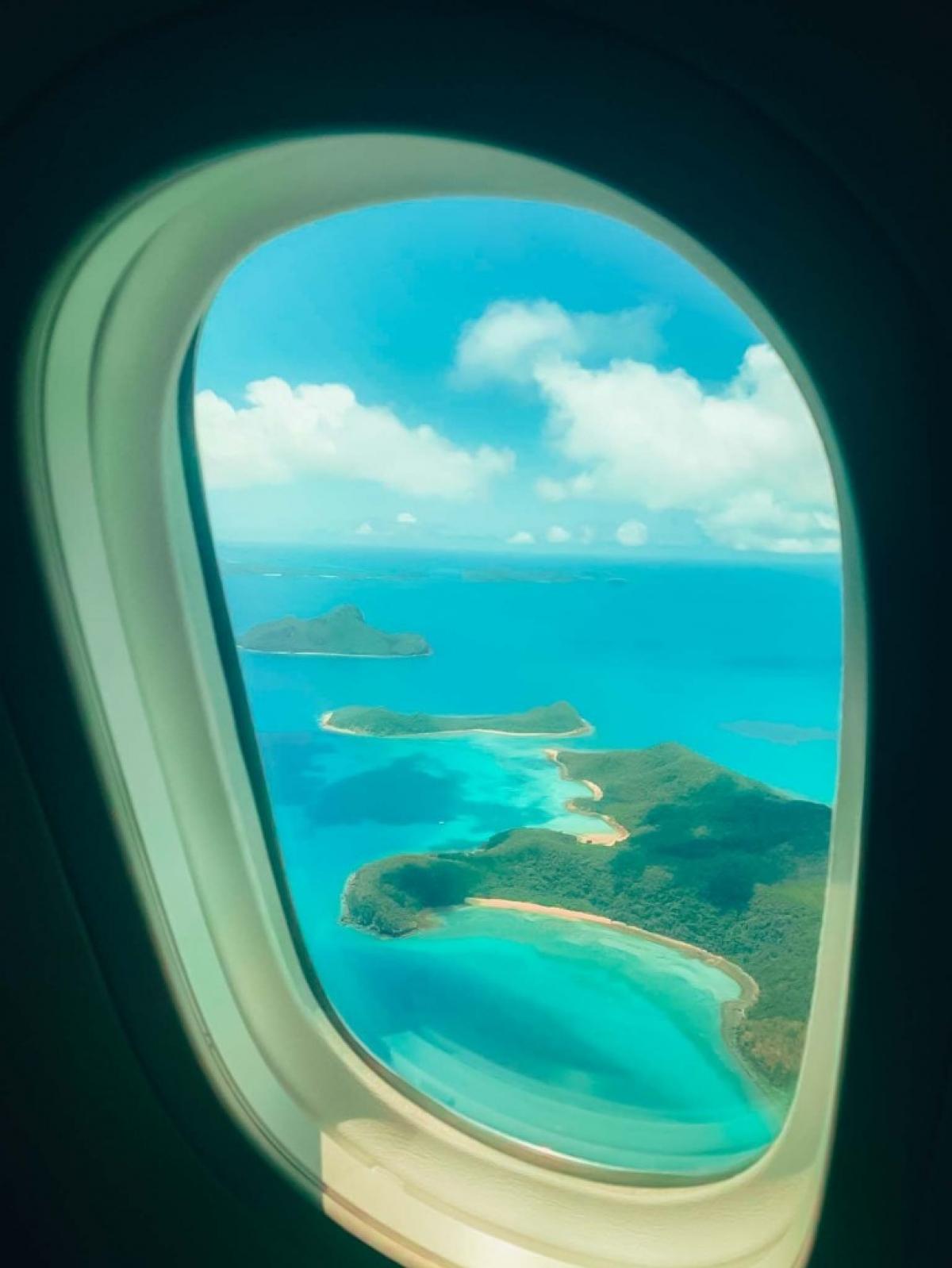 Những khung cảnh tuyệt đẹp khiến hành khách vô cùng phấn khích