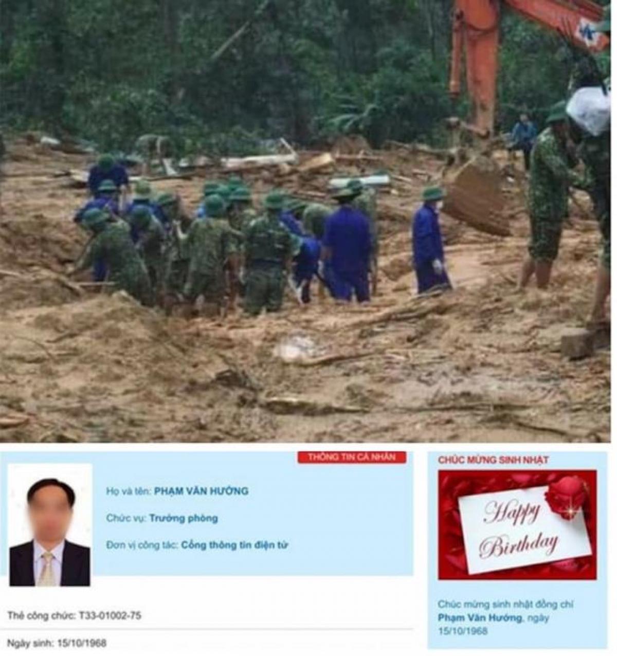 Vụ sạt lở núi ở Trạm quản lý, bảo vệ rừng 67 đã vĩnh viễn cướp đi sinh mạng 13 cán bộ chiến sỹ trong đoàn đi cứu nạn.