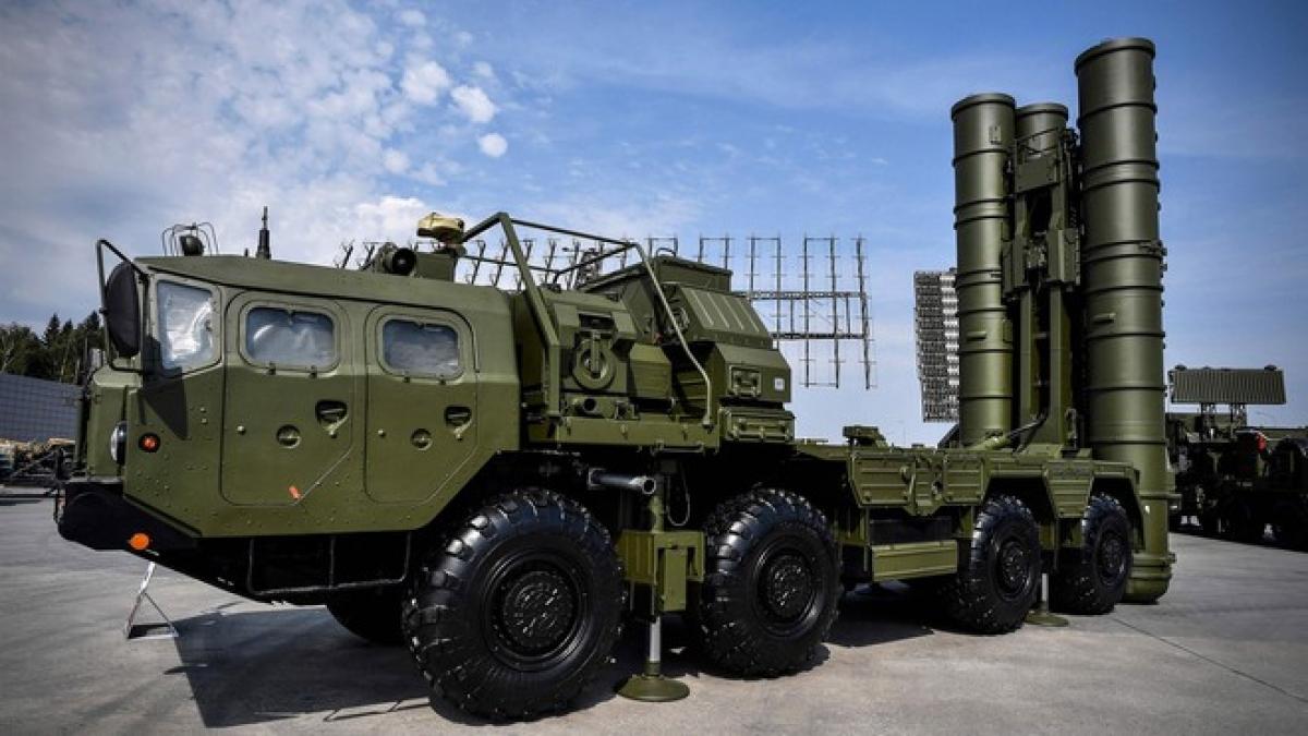 Hệ thống phòng không S-400 của Nga. Ảnh: AFP