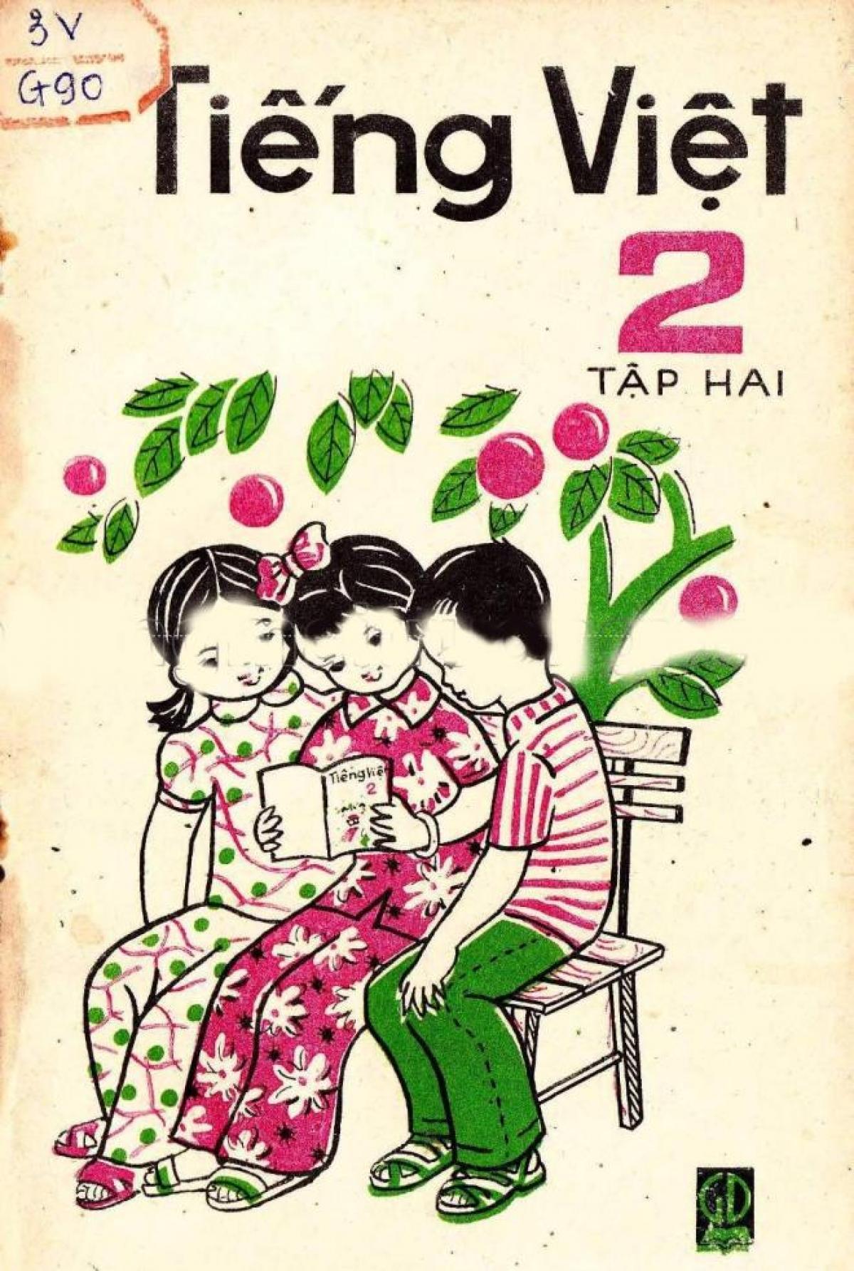 Sách Tiếng Việt lớp 2 tập 2, xuất bản năm 1985.