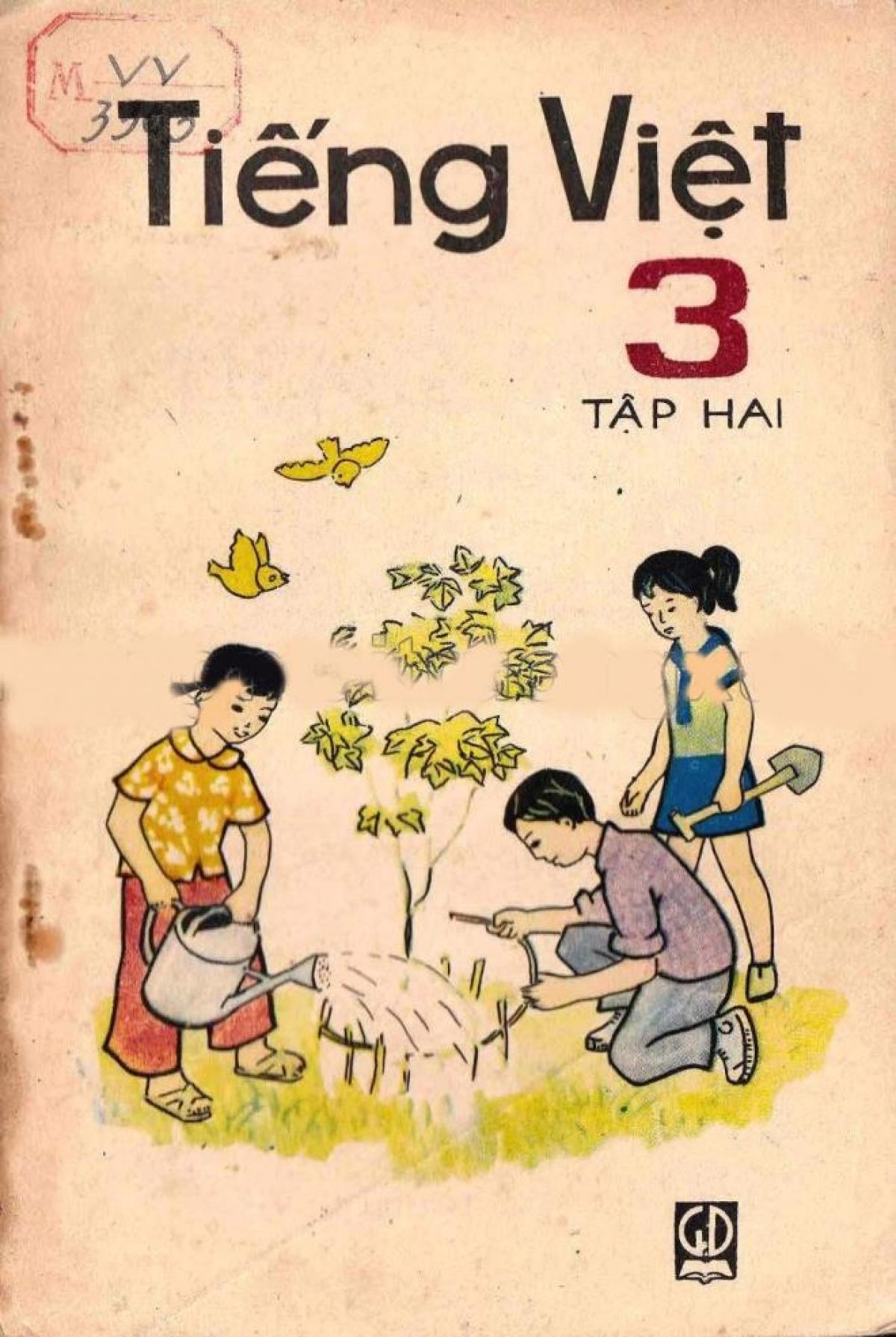 Sách Tiếng Việt lớp 3 tập 2, xuất bản năm 1985.