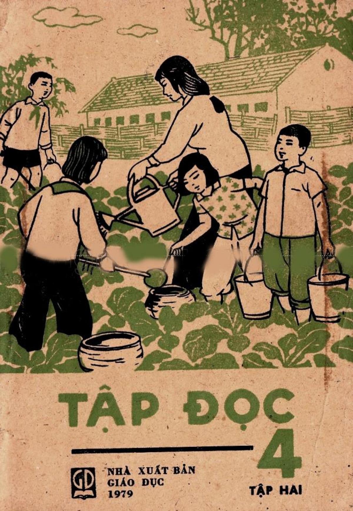 Ngắm lại bìa sách giáo khoa môn Học vần, Tập đọc, Tiếng Việt, Văn... bậc tiểu học của 30 - 40 năm trước, những người thế hệ 7X, 8X hẳn sẽ thấy thương nhớ rưng rưng.