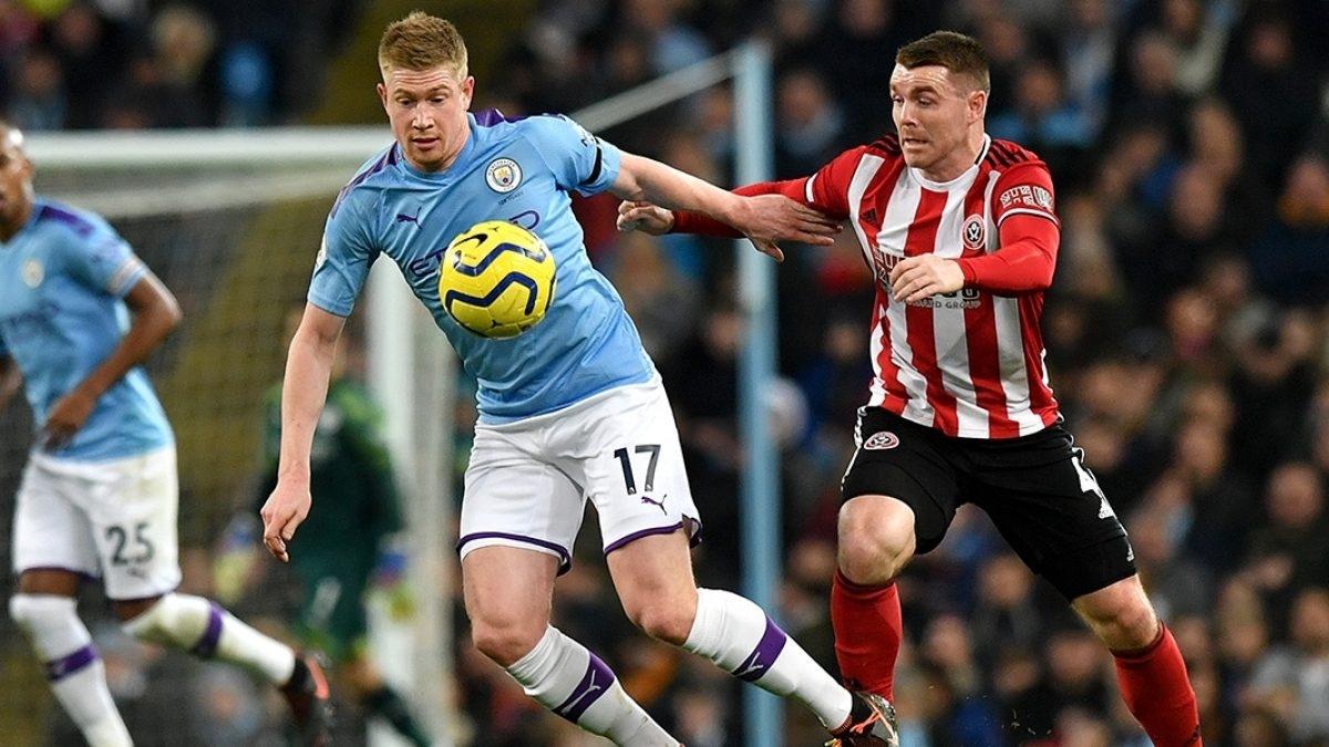 Man City đã thắng Sheffield trong cả 2 lần đối đầu ở Premier League mùa trước. (Ảnh: Getty)