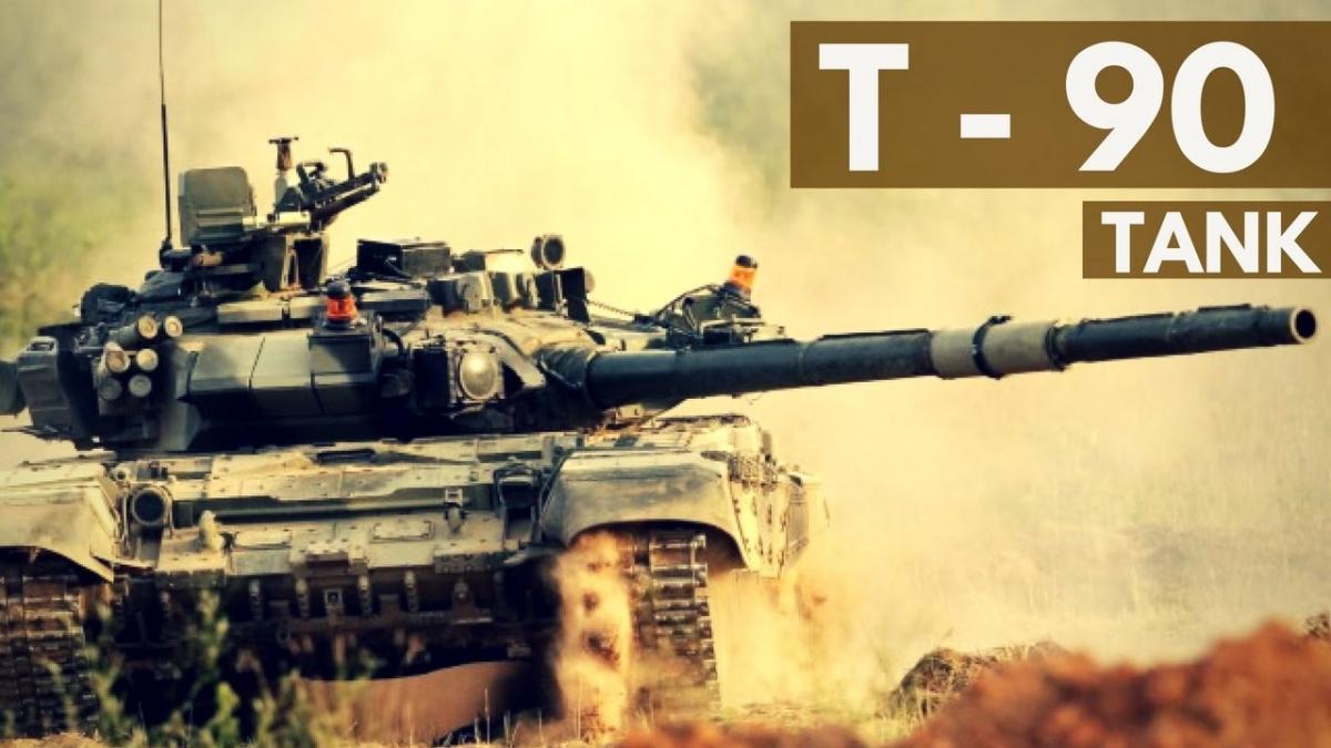 Xe tăng T-90. Ảnh:Eurasiantimes