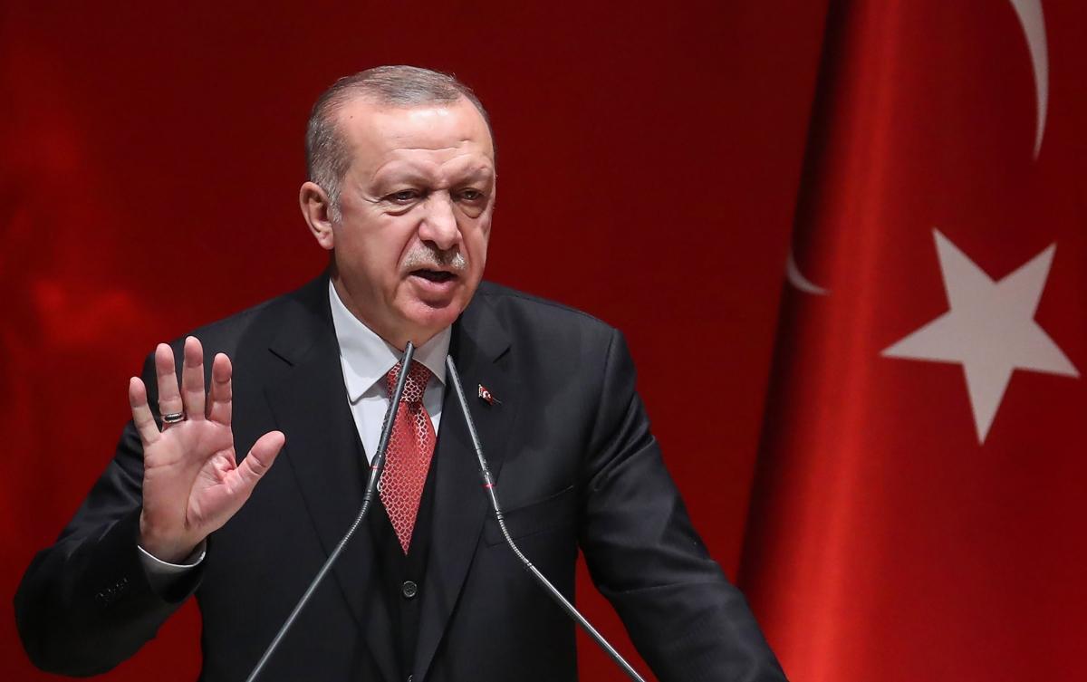 Tổng thống Thổ Nhĩ Kỳ Tayyip Erdogan. Ảnh: Time Magazine