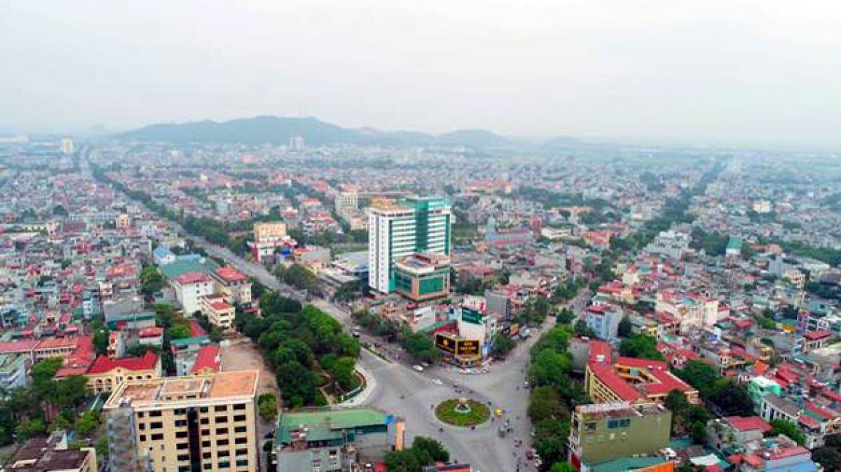 Toàn cảnh thành phố Thanh Hóa (ảnh: KT)