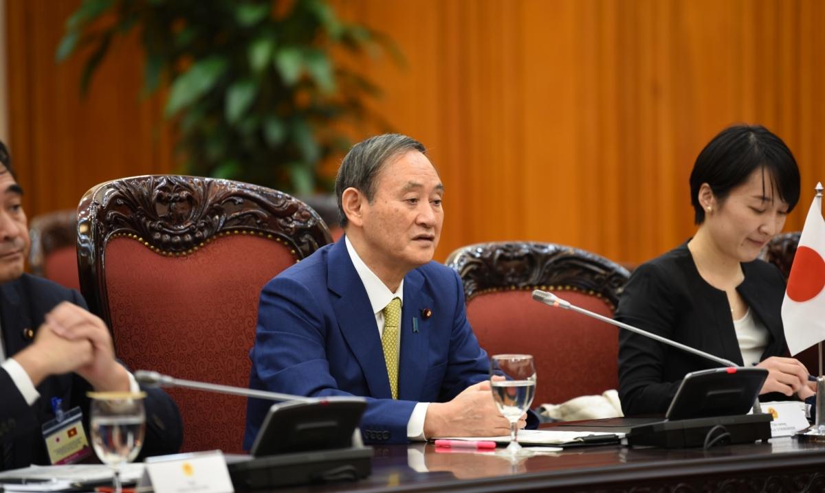 Hai Thủ tướng đãthảo luận về các nội dung hợp tác hai nước, trong đó có chia sẻ, hỗ trợ nhau trong phòng chống đại dịch Covid-19; Thúc đẩy các biện pháp phát triển kinh tế, thương mại song phương.
