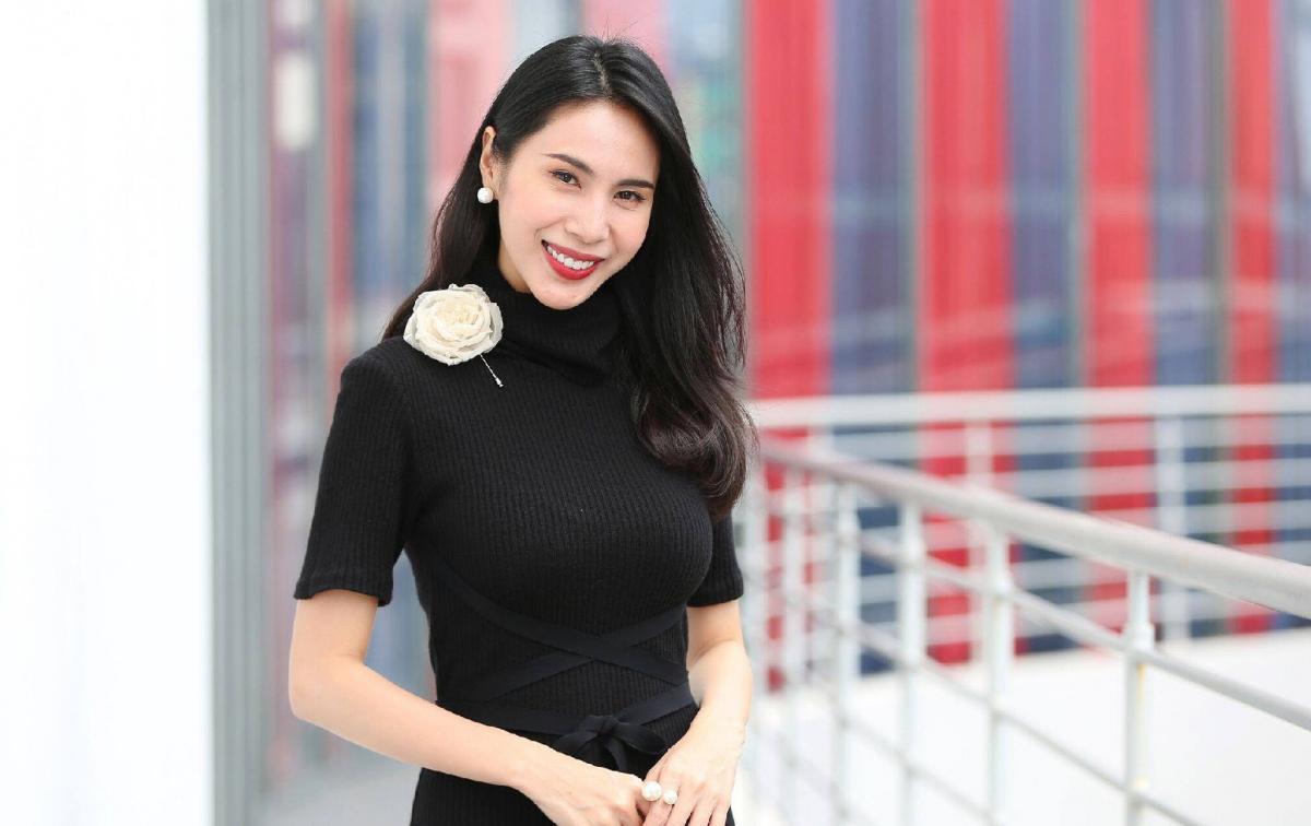 Ca sĩ Thuỷ Tiên.