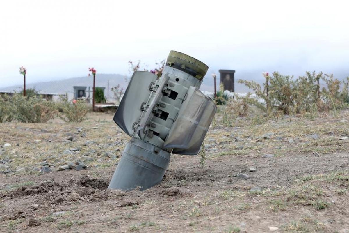Chiến sự Nagorno-Karabakh giữa Armenia và Azerbaijan. Ảnh: Reuters