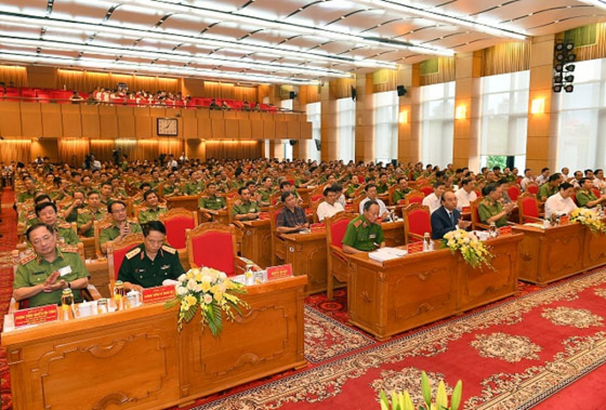 Hội nghị sơ kết công tác công an 6 tháng đầu năm 2020