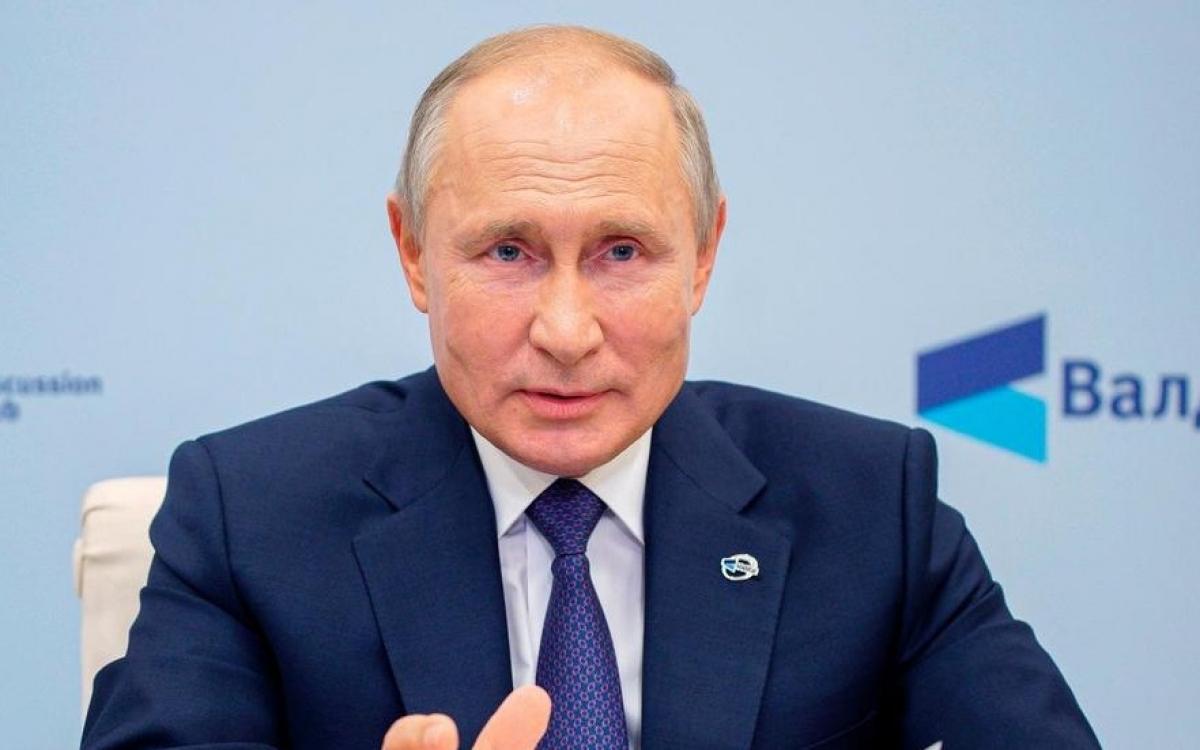 Tổng thống Nga Putin. Ảnh: Điện Kremlin.