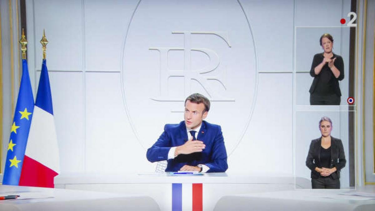 Tổng thống Pháp Emmanuel Macron. Ảnh: Le Monde