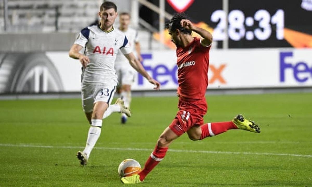 Tottenham thua sốc Antwerp. (Ảnh: Getty)