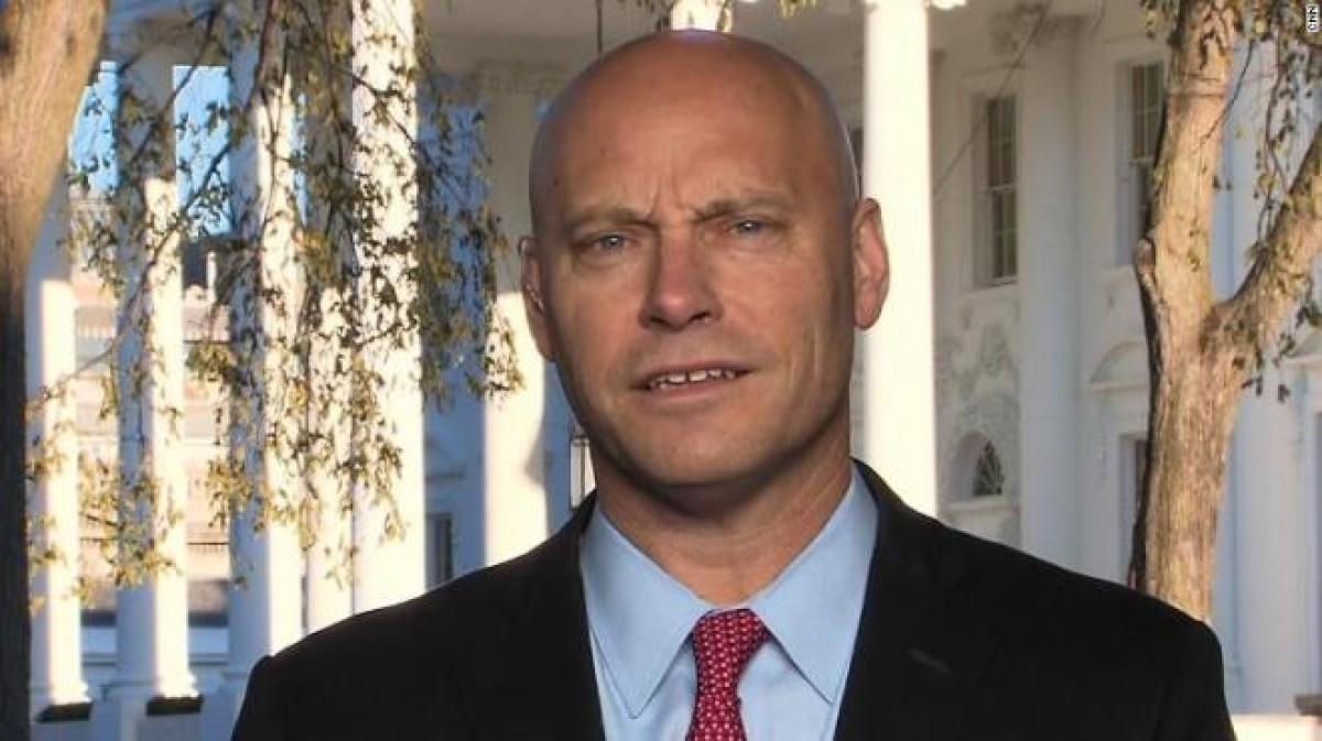 Marc Short, Chánh Văn phòng của Phó Tổng thống Mỹ Mike Pence dương tính với SARS-CoV-2. (Ảnh: CNN)