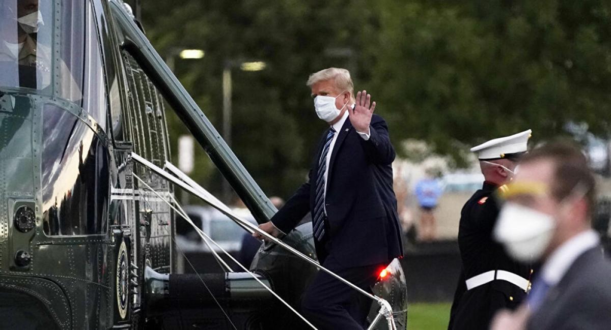Ông Trump không phải là tổng thống đầu tiên trong lịch sử Mỹ từng phải đối mặt với các lời đồn đại về sức khỏe. Ảnh: AP