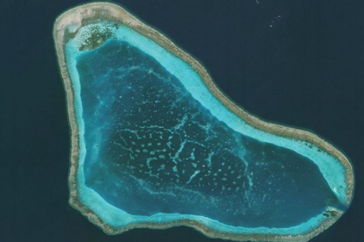 Philippines cử 240 dân quân đến Biển Đông để bảo vệ bãi cạn Scaborough. (Nguồn:AMTI/CSIS)