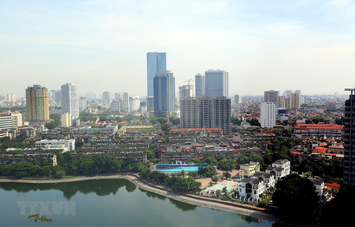 Một góc thủ đô Hà Nội hiện đại hôm nay (Ảnh: TTXVN)
