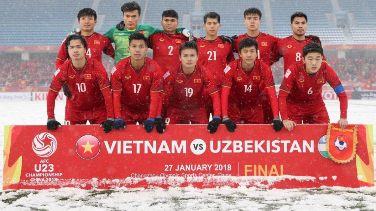 U23 Việt Nam từng tạo ra kỳ tích ở VCK U23 châu Á 2018 ở Trung Quốc. (Ảnh: AFC)